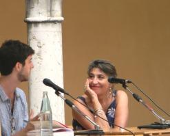Vincenzo Latronico e Serena Dandini