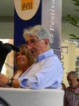 Corrado Augias e Lella Costa