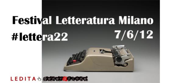 #lettera22, l'hashtag di generAzione e LeDita